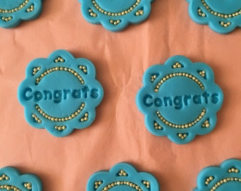 Congrats Cupcake Toppers