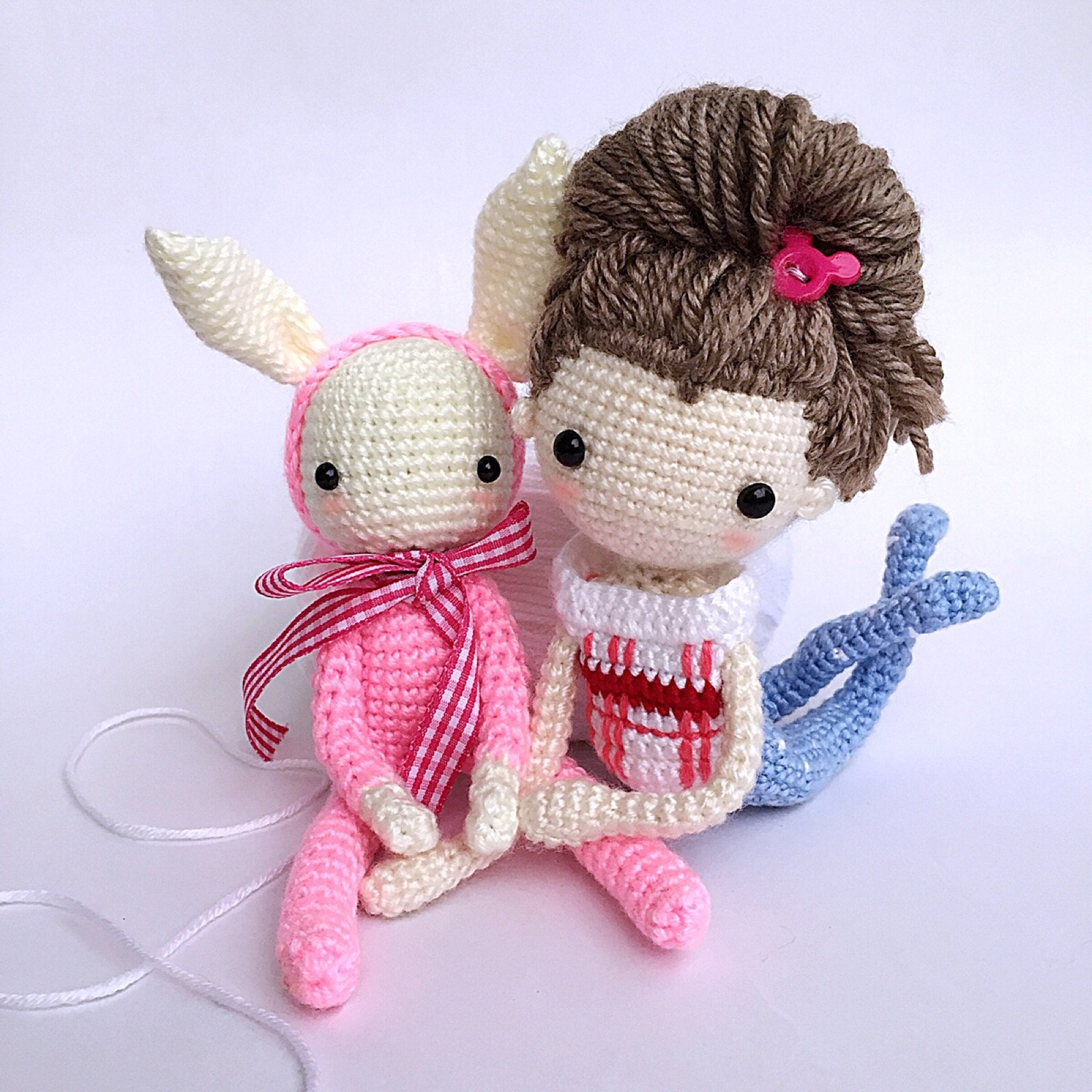 Love art doll handmade crochet.... by LydiawlcMW on Etsy