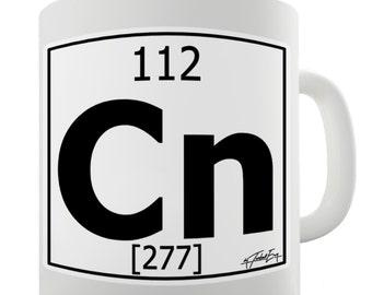 Periodic Table Of Elements Cn Copernicium Ceramic Novelty Mug