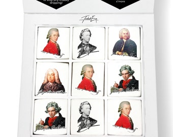 Famous Composers Printed Magical Marshmallows