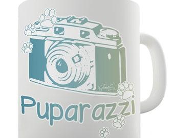 Puparazzi Camera Ceramic Mug