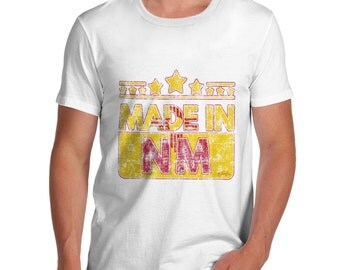 Men's Made In NM New Mexico T-Shirt