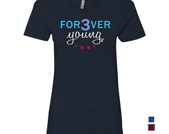 Forever Young - Womens - Tee - David Ross