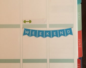 10 Weekend Banners ECLP Happy Planner