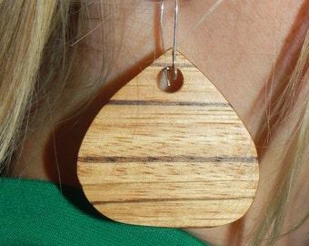 Zebrawood Earring