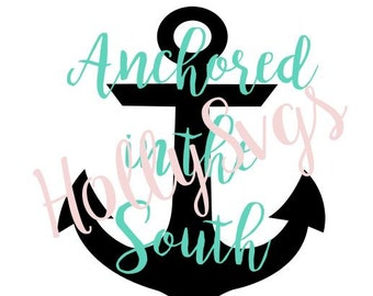 Anchored in the South SVG File