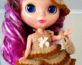 Crochet set for Blythe doll