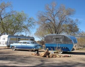 Classic Car & Camper