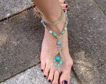 Bohemian Sole-less Sandal Paw Print