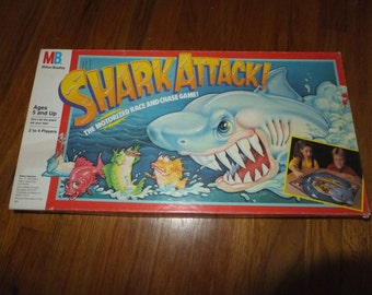 1988 Vintage  Shark Attack! Board Game