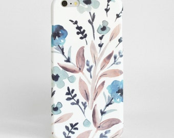 Watercolor Phone Case, iPhone 8 case, Phone Cover, Phone 7Plus Case, iPhone 6 Case 3D Slim iPhone 7 Plus Case Samsung Galaxy S7 Case
