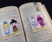 Magnetic Bookmark - Alice in Wonderland