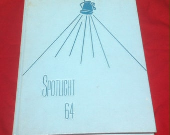 Class of 1964 Vintage School Yearbook, Palatine High, Pal High, Illinois School, Pretty Cool to Look Thru, Nostalgia , High School Yearbook