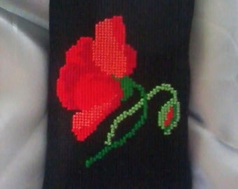 Case for mobile phone with embroidery