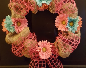 Spring wreath (handmade)