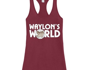Waylon's World Tank Top