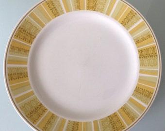 Set of 8 Franciscan Antigua Dinner Plates - Whitestone Ware Interpace
