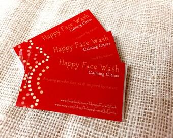 Happy Face Wash Sample