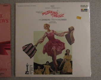 Julie Andrews Vintage 2 Record Set (2 Records) from the 60s
