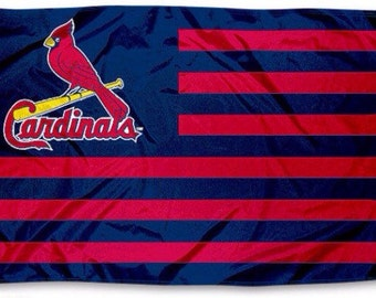 3x5 St. Louis Cardinals Flag