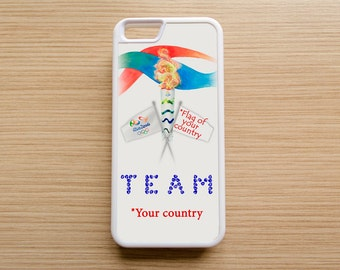 Rio 2016  Olympic Phone Case / TEAM *for your choice* for Iphone, Samsung, other