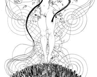The world inside - François Amoretti - Shauna #5 - A4 print