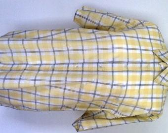 """Vintage 1980s """"Gabicci"""" Mens Short Sleeved Shirt, UK Medium"""