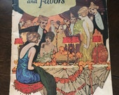 "1922 ""Tables and Favors"" booklet. Party Decoration Ideas-Dennison Co."
