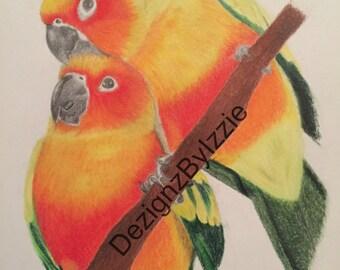 Custom Portrait - Colored Pencil (11x14 inches)