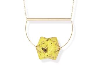 Sautoir - Moon - yellow