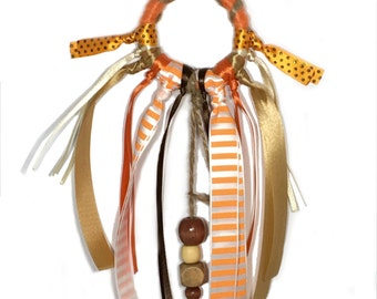 Orange Dream Catcher Cat Toy