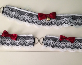Lace Collar and Cuff set