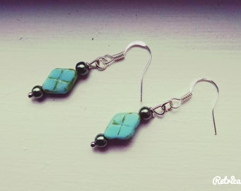 By the Sea Glass Earrings