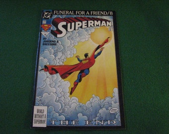 Superman DC Comic Book