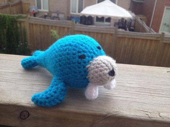 Amigurumi Walrus : Amigurumi Walrus crochet toy crochet walrus by ...
