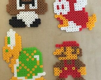 Mario perler bead set