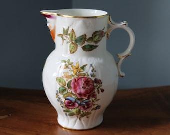 SALE Royal Worcester masked jug, 1951