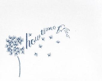 How Time Flies Cross Stitch Kit