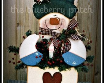 Mr. Frosty Pattern Packet BP188