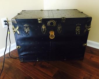 Large antique trunk