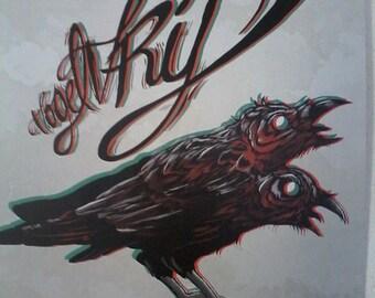 Vogelvrij EP Artwork