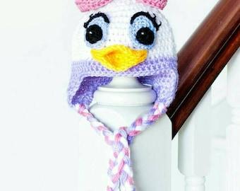 Daisy duck hat