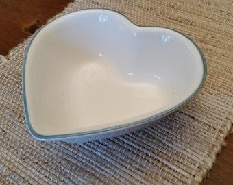 Pfaltzgraff Juniper Heart Shaped Bowl  **PRICE REDUCED**