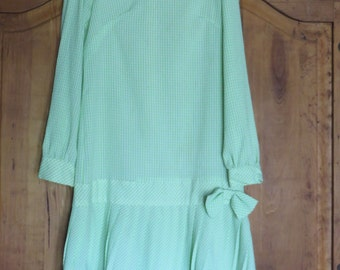 Vintage 60's Mod GoGo Twiggy Dress