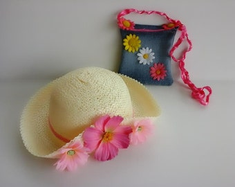 Tea Party Hat and Purse