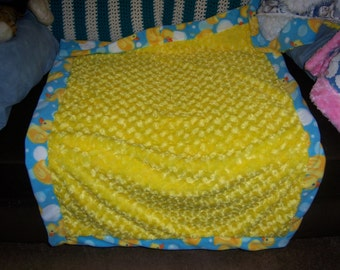 baby blanket duck happy