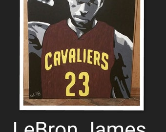 LeBron James painting