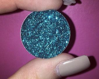 Dollificent Glitters 26mm Pressed Glitter Pan in 'Bubblegum', Magnetic Pans