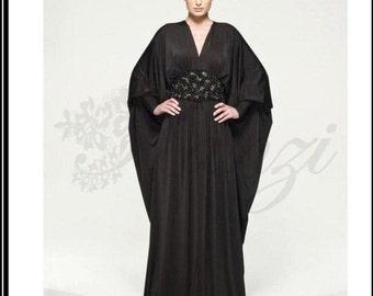 Butterfly caftan style dubai abaya M