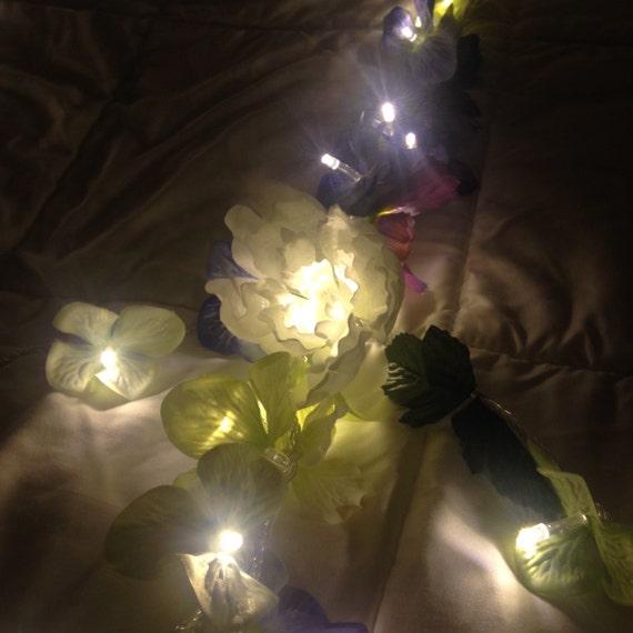 Fairy Lights Bedroom Flower Garland String Lights Dorm